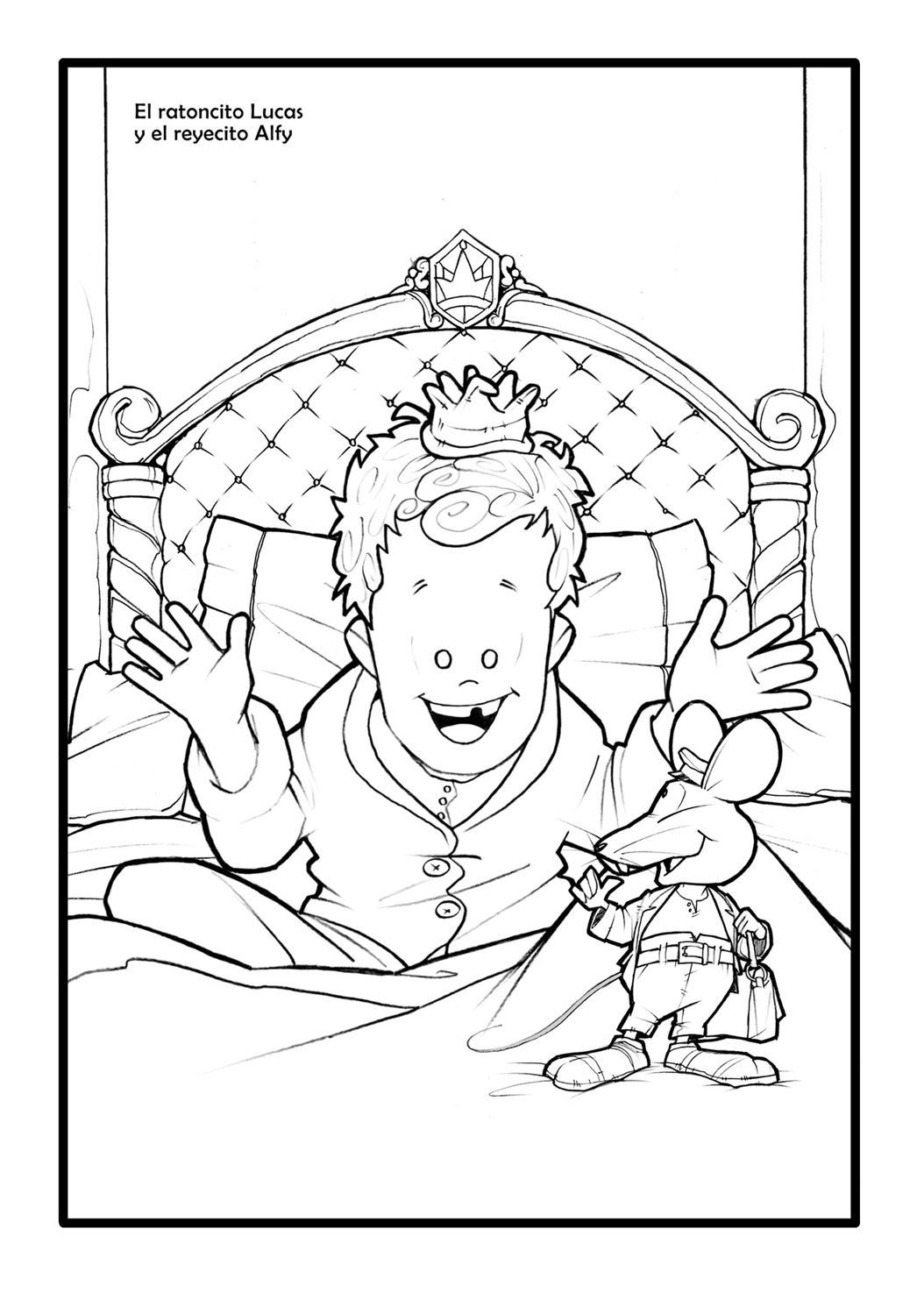 elratonperez Colouring Pages (page 2)